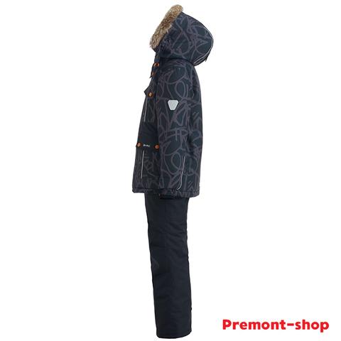 Комплект Premont для мальчика Трасса Мон-Трамблан WP92266 BLACK