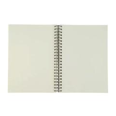 Альбом для зарисовок Fabriano Schizzi, А5, мелкозернистая темная обложка, 60 л, спираль по короткой стороне