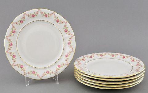 Набор тарелок десертных 17 см 6 штук Соната Leander
