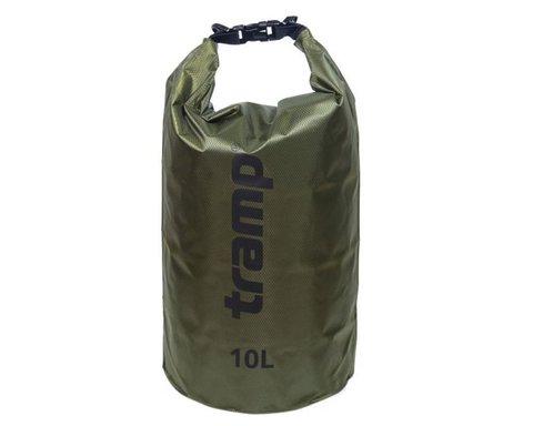 Гермомешок Tramp 10л TRA-111 (оливковый)