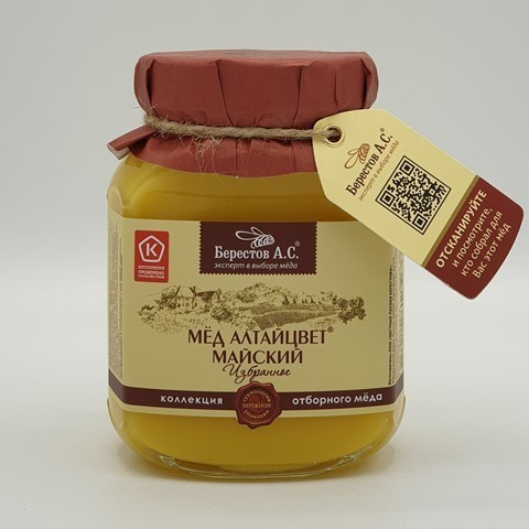 Мёд натуральный Алтайцвет Майский БЕРЕСТОВ А.С.