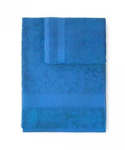 Полотенце 100х150 Caleffi Calypso ярко-синее
