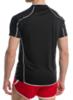 Мужская волейбольная футболка асикс T-shirt Volo (T604Z1 9001) черная фото