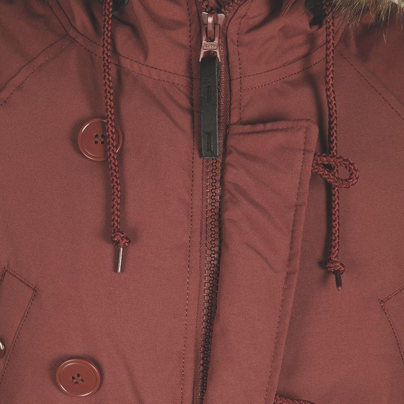 6efc3206 Куртка Аляска Женская - Altitude W Parka (горчичная - tumbleweed)