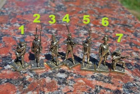Солдатики Русская армия 1812 г