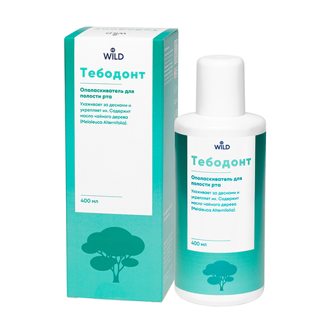 Ополаскиватель для полости рта Тебодонт Tebodont Dr.Wild, 400 мл