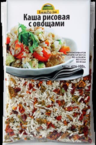 Каша рисовая с овощами 'Здоровая еда'