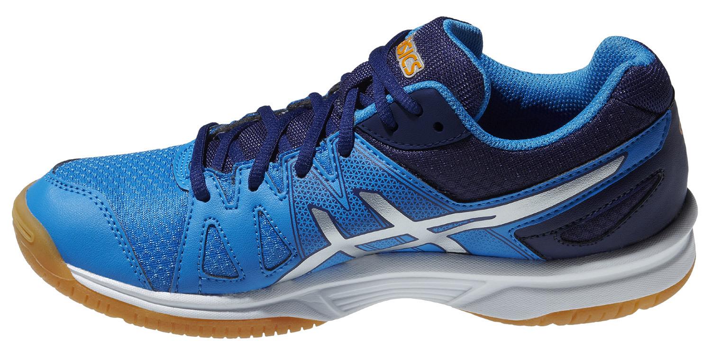 Детские кроссовки для волейбола  Asics Gel-Upcourt GS (C413N 4193) синие фото