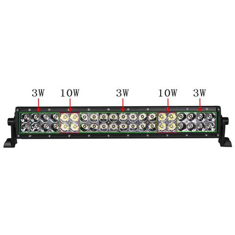 Светодиодная балка   10 комбинированного  света Аврора  ALO-D1-10-P4BT ALO-D1-10-P4BT  фото-1
