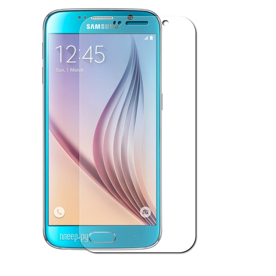 Защитное стекло Samsung Galaxy S6 EDGE 3D Transparent