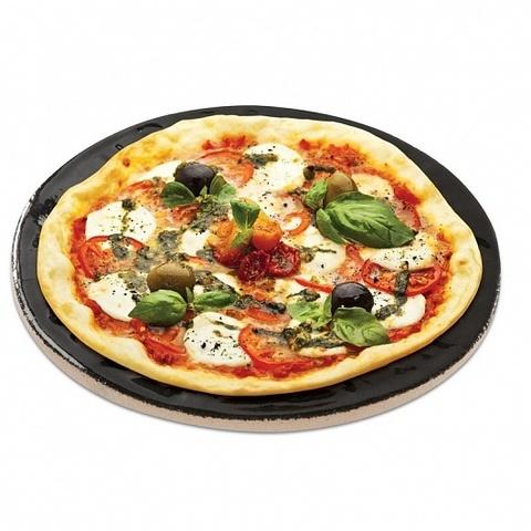 Пицца-камень с глазированным покрытием 16 дюймов
