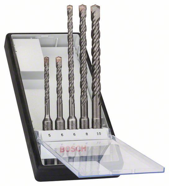 Набор буров SDS plus-5 5шт Robust Line Bosch 2607019927