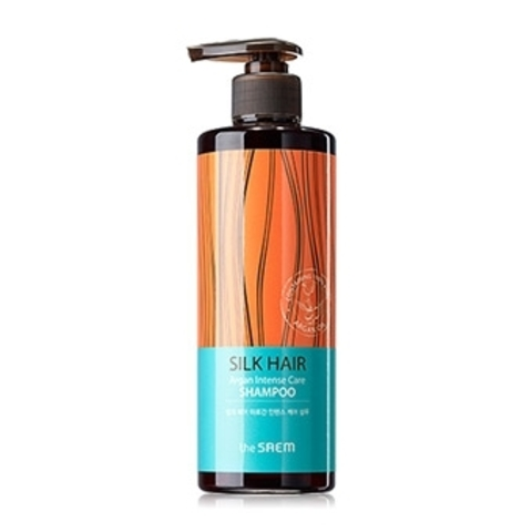THE SAEM SILK HAIR Шампунь для волос с арганой SILK HAIR Argan Intense Care Shampoo 380гр