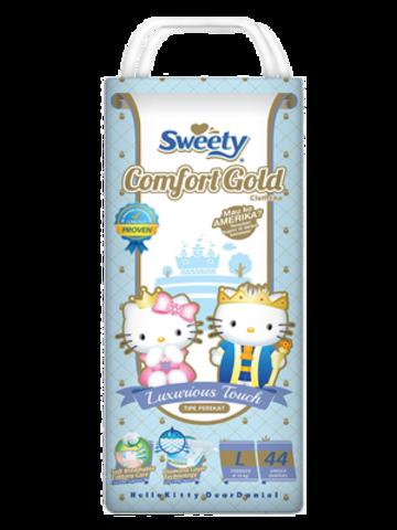 Подгузники Sweety Comfort Gold L 44 (8-13кг)