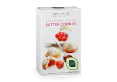 Сливочное печенье с малиновой начинкой, 125г