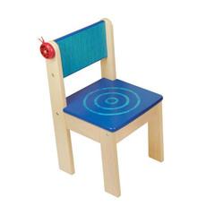 I'm Toy Детский стульчик деревянный (голубой) (42022BL)