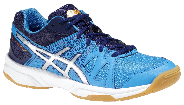 Детские волейбольные кроссовки Asics Gel-Upcourt GS (C413N 4193) синие