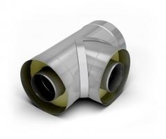 Тройник 90-сэндвич TMF ф140/240, 0,5мм, н/н