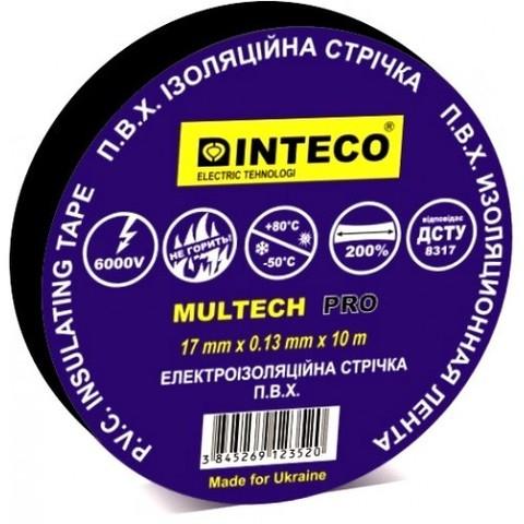Изоляционная лента черная INTECO Multech Pro 10м.