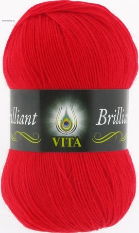 Пряжа Brilliant Vita 5107 алый (упаковка 5 мотков) - купить в интернет-магазине от 1 упаковки