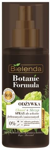 BOTANIC FORMULA Питательный спрей для окрашенных волос ПОЛЕВОЙ ХВОЩ+ХМЕЛЬ, 150мл