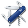 Нож Victorinox Spartan, 91 мм, 12 функций, синий