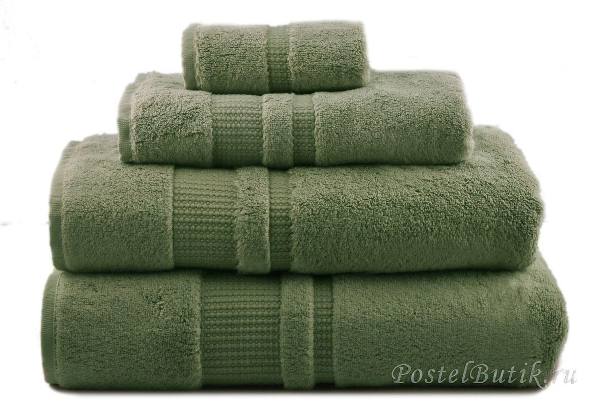 Полотенце 50x100 Hamam Pera зеленое