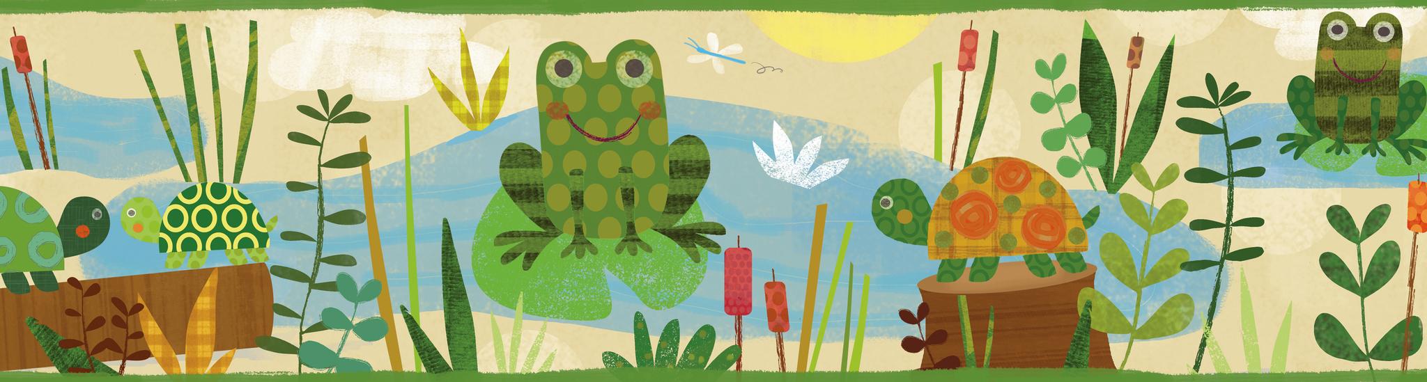 Бордюр Chesapeake Totally for Kids TOT46331B, интернет магазин Волео