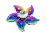 Металлический Спиннер хамелеон цветок
