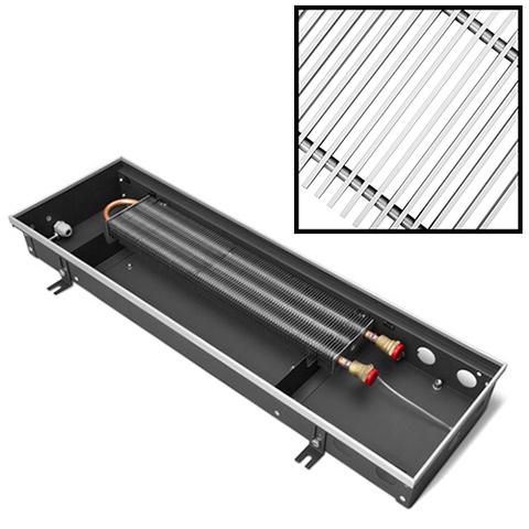 Конвектор внутрипольный Techno Usual - 105x420x1600 мм (естественная конвекция, без решетки)