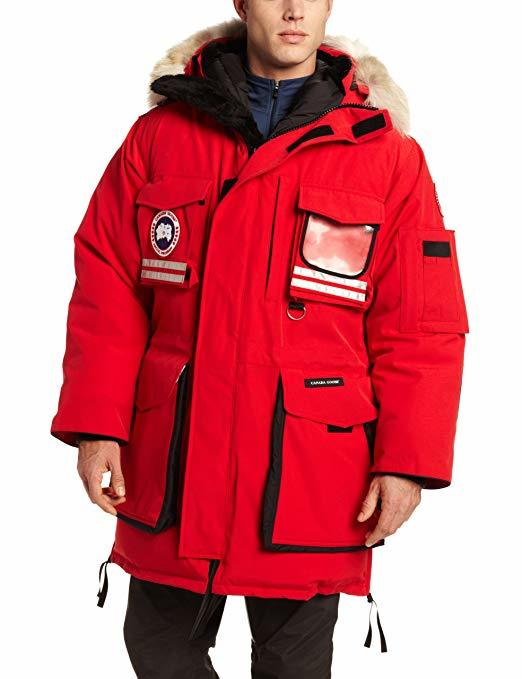 SNOW MANTRA PARKA MEN'S RED 05927