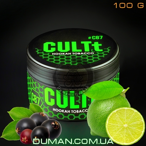 Табак CULTt C87 Lime Elderberry  (Культ Лайм Бузина)