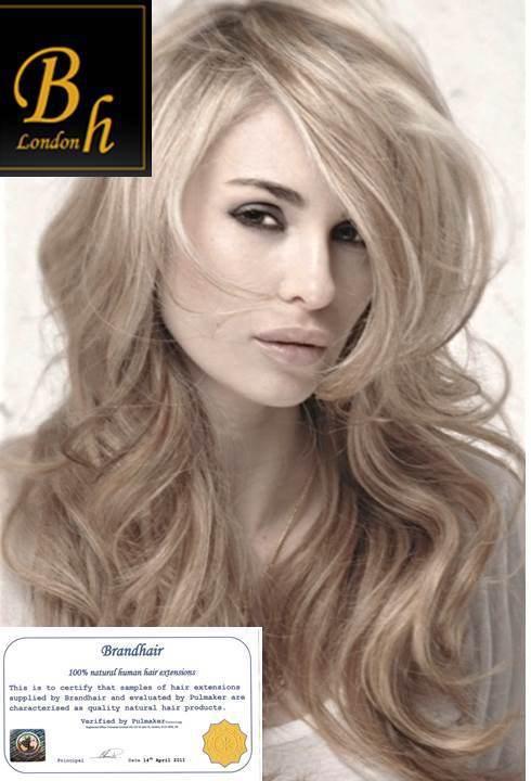 Наборы для ленточного наращивания цвет #16-Темный пепельный блонд -40 штук,длина 60 см.Волос прямой