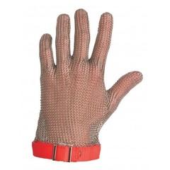 Фото: Перчатка кольчужная 5 пал (ML красная)