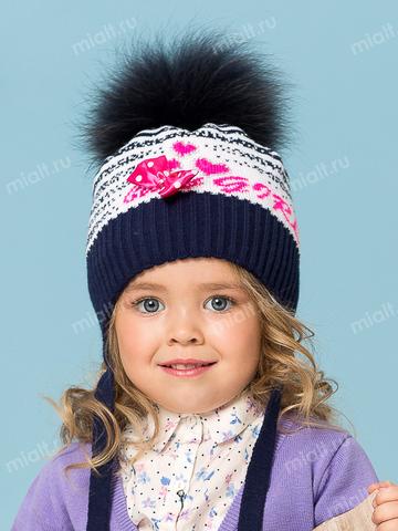 Зимняя шапка для девочки Mialt Baby girl