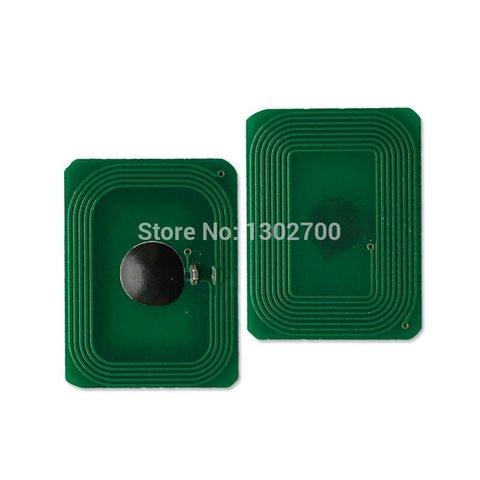Чип для тонер-картриджа OKI C612. Цвет черный. Ресурс 8K