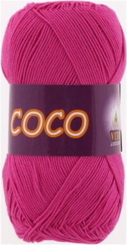 Пряжа Coco (Vita cotton) 3885 Фуксия