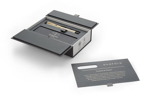 Перьевая ручка Parker Duofold Classic Centennial, Ivory GT, перо: F123