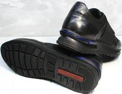 Обувь сникерсы мужские Luciano Bellini 1087 All Black