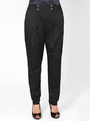 A7385 брюки женские, черные