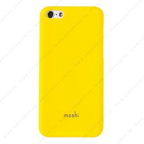 Накладка Moshi пластиковая для iPhone 5C желтая