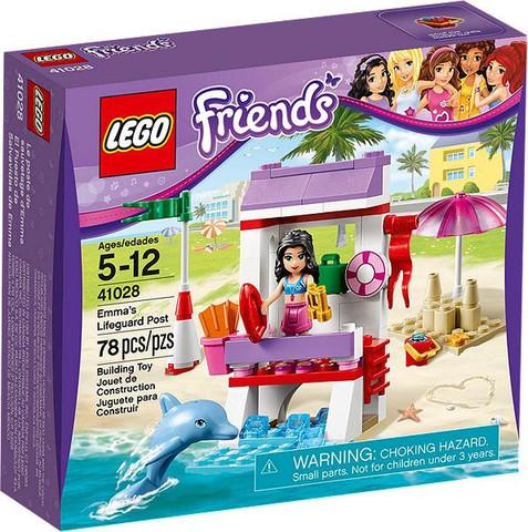 LEGO Friends: Спасательная станция Эммы 41028