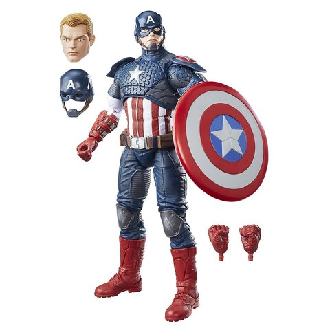 Фигурка Капитан Америка (Captain America) - Marvel Legends, Hasbro