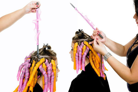 Новый метод завивки волос  - бигуди Мagic Leverage (Волшебные бигуд...
