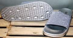 Красивые шлепки J.B.P. Shoes Nu1213 Silver.