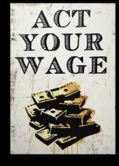 """Постер """"Закон вашей заработной платы"""""""