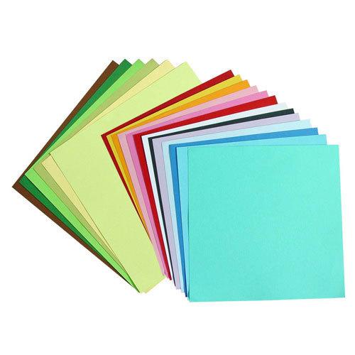 Кардсток текстурированный цветной, 30,5*30,5 см, 216 гр/м, 1 лист.
