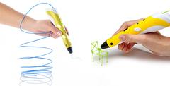 3D ручка Myriwell RP100A (желтая)