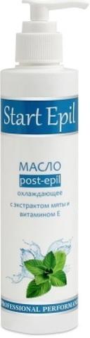 Aravia Масло после депиляции охлаждающее - С экстрактом мяты и витамином Е