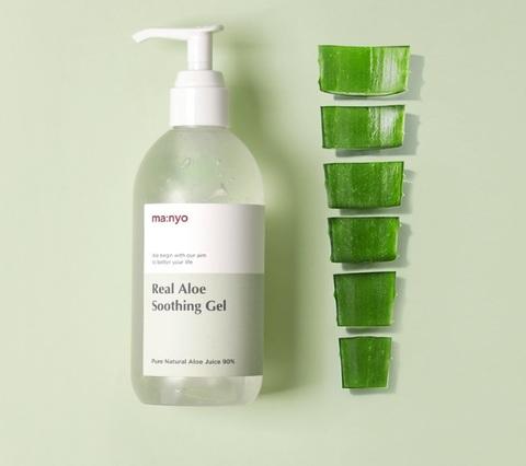 Успокаивающий гель с алоэ, 300 мл / Manyo Real Aloe Soothing Gel